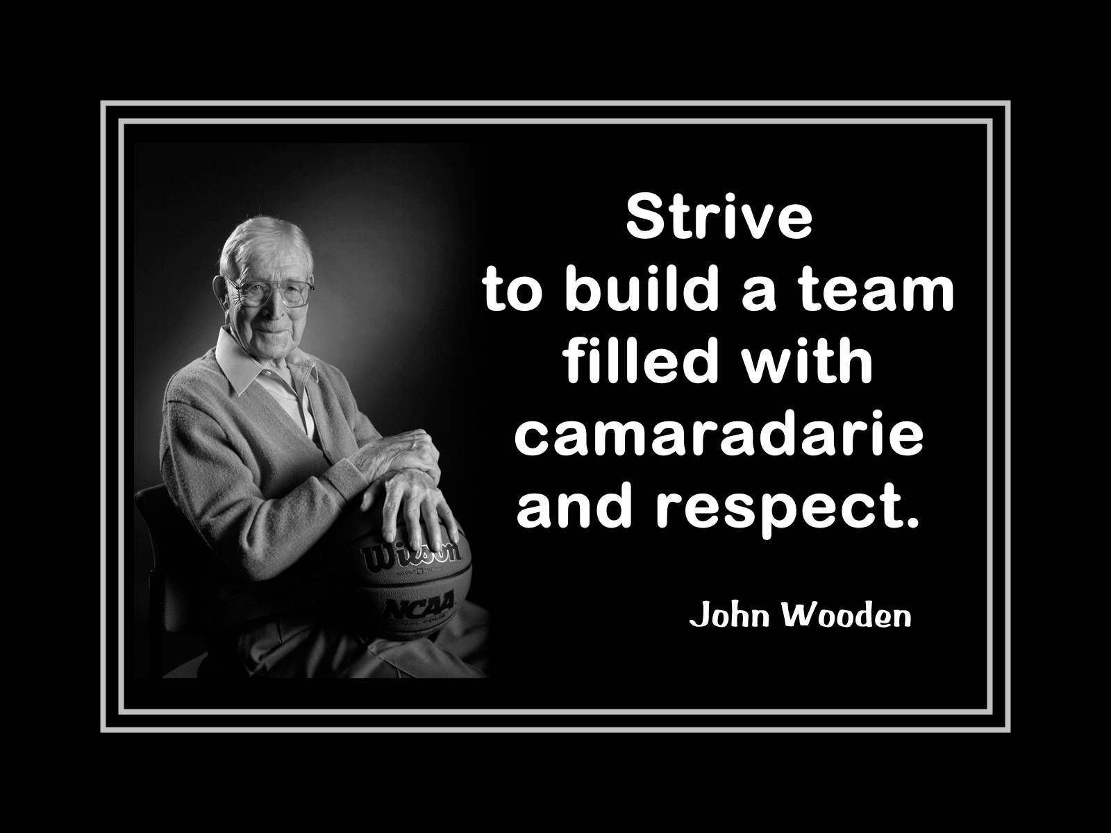 Basketball coach motivation poster john wooden quote