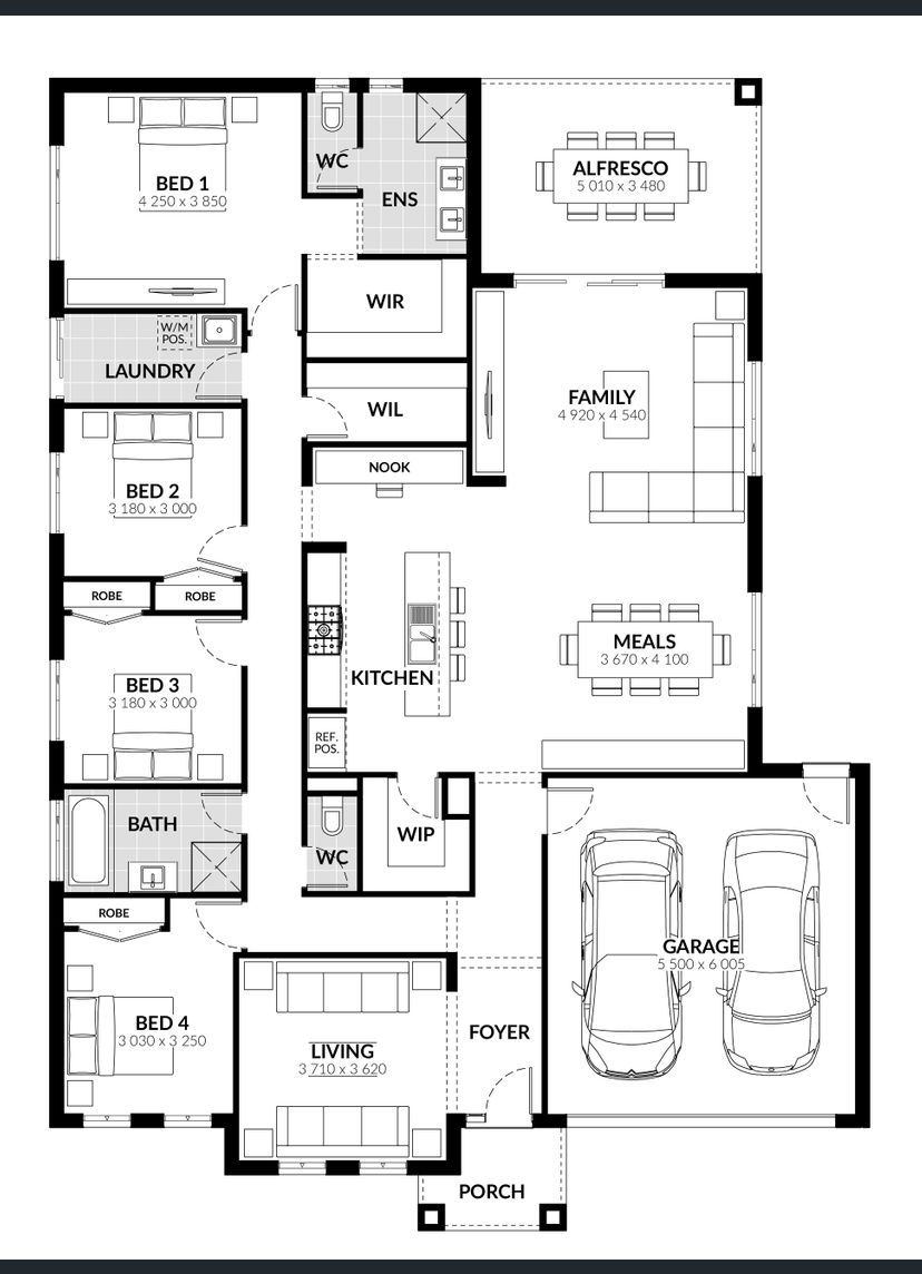 Fitzroy Home Design House Plan By Jg King Homes Kings Home House Design House Plans