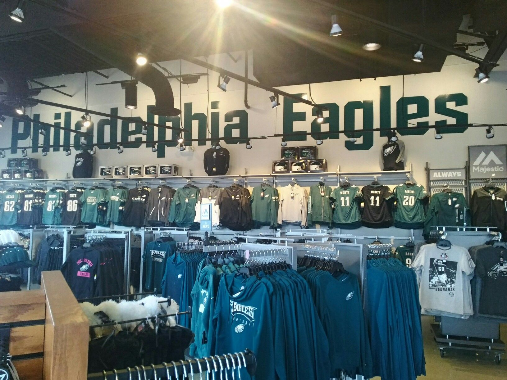 on sale 0e789 dffc4 I died and went to Heaven!!!! EAGLES pro shop cherry hill ...
