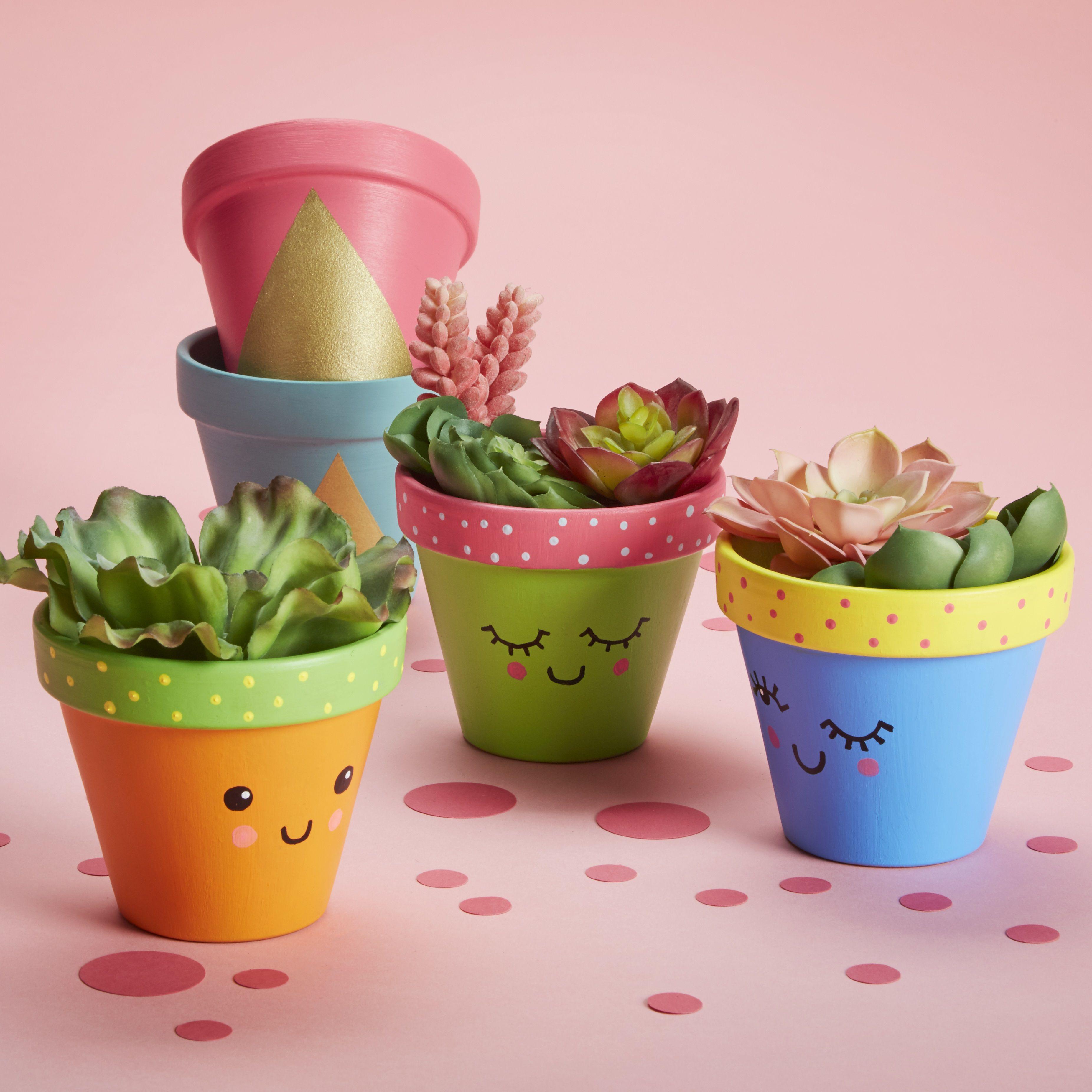 Makebreak Clay Pots Clay Pot Crafts Painted Pots Diy Flower Pot Crafts