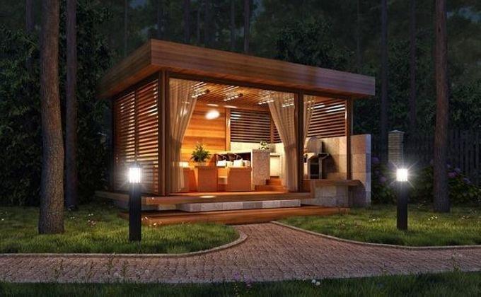 Gazebo Living Room A Luxury Lifestyle Modern Gazebo Outdoor