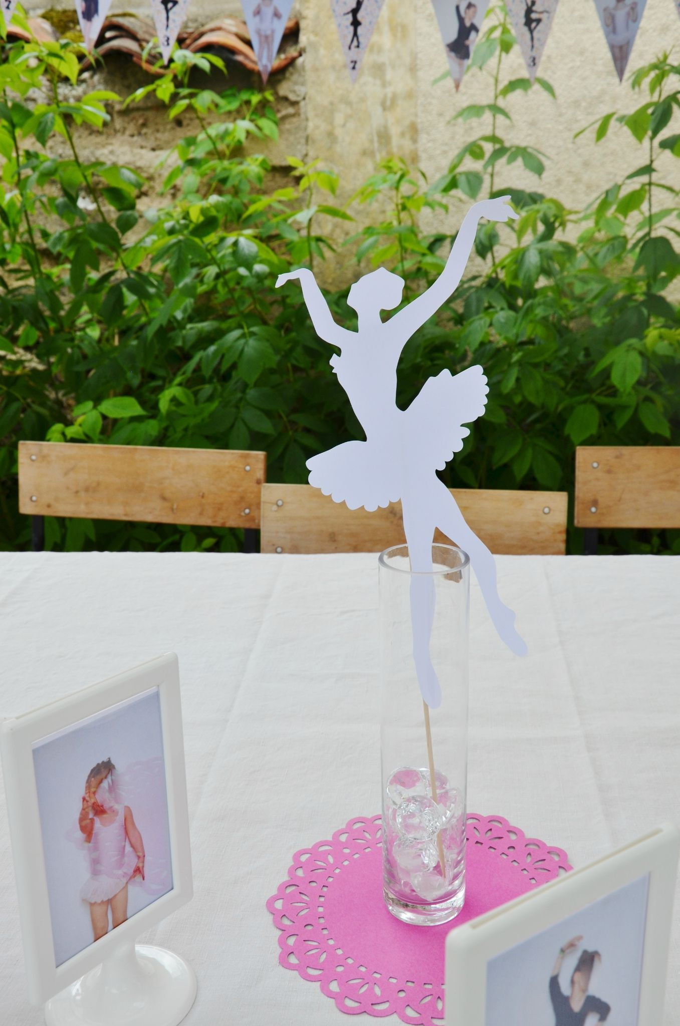 decoration anniversaire ballerine