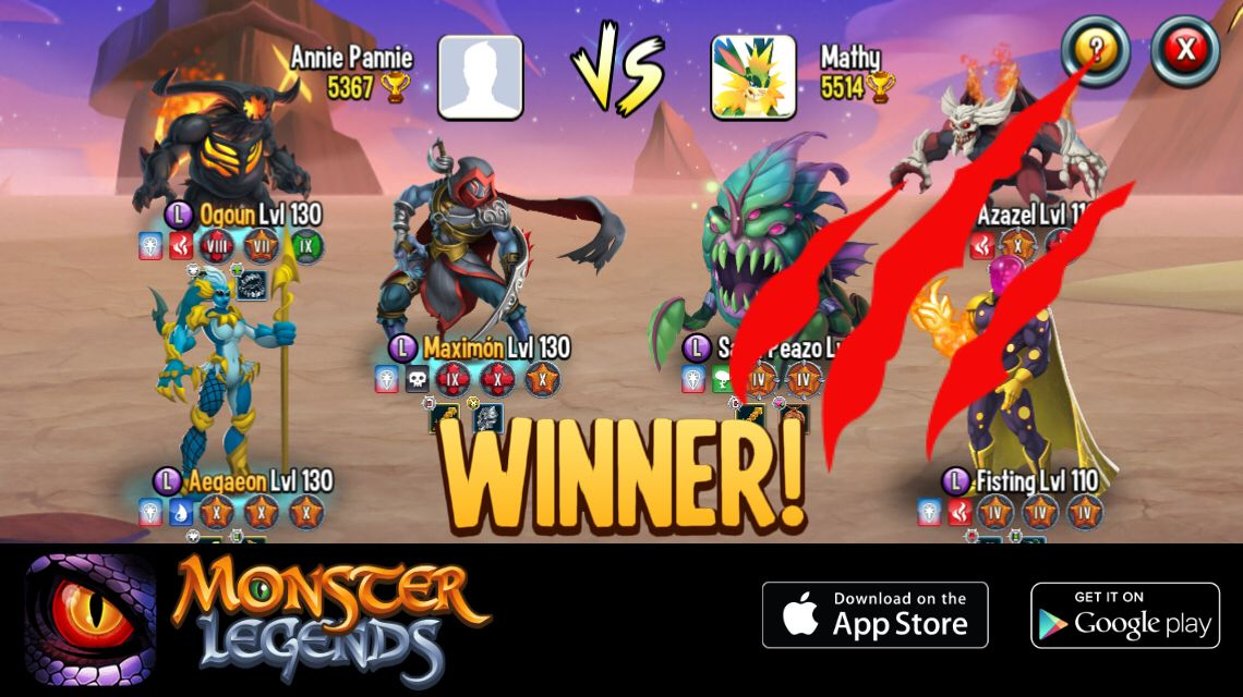 Pin on Monster legends