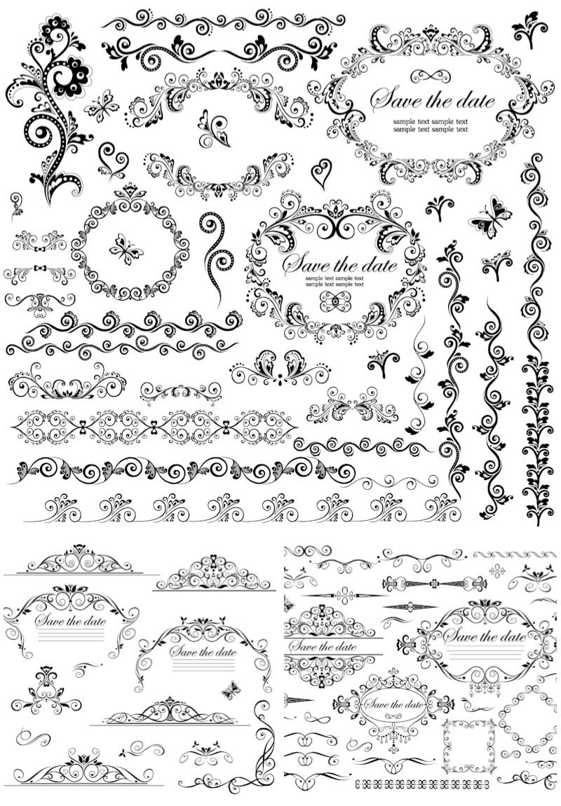 Decorative frames and borders vector free for download and ready for decorative frames and borders vector free for download and ready for print over 10000 graphic resources on vectorpicfree junglespirit Images