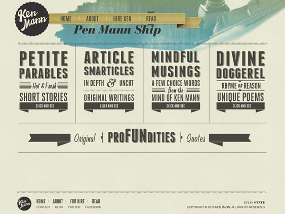 17 Best images about Vintage/retro inspired web design on ...