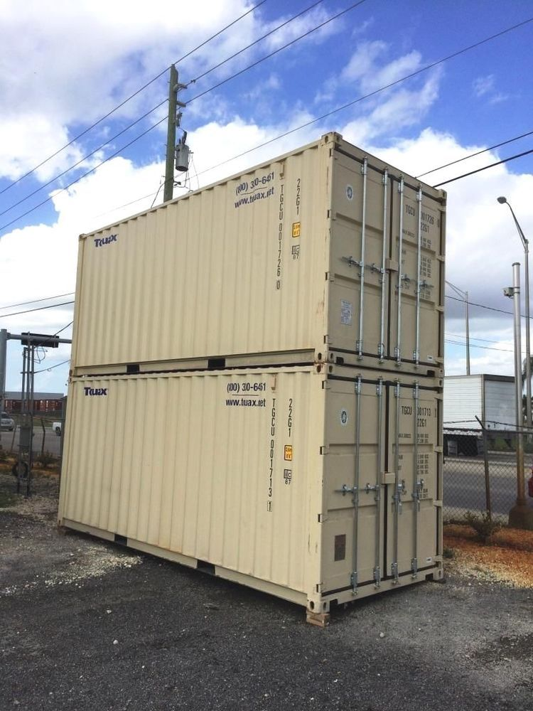 20 Ft Shipping Or Storage Container New Storage Containers Shipping Containers For Sale Containers For Sale