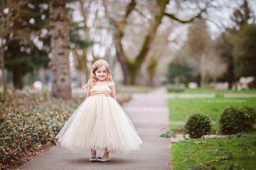 Làm váy công chúa cho con gái chỉ bằng... màn tuyn - 13