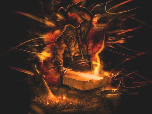 Hephaestus Mythologie Folklore Und Griechisch