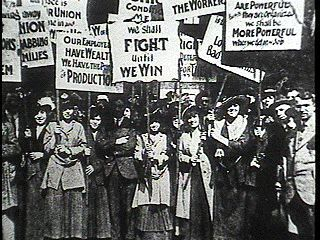 This picture is an example of a labor union protesting. Labor ...