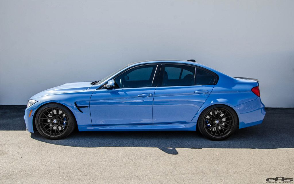 Yas Marina Blue F80 M3 Er Downpipes And Ess Flash Tune With