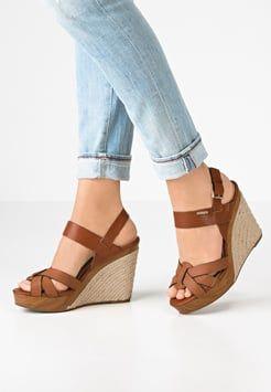 8d156831125d10 Cassis côte d'azur - ASHLEY - Sandales compensées - camel | shoes en ...
