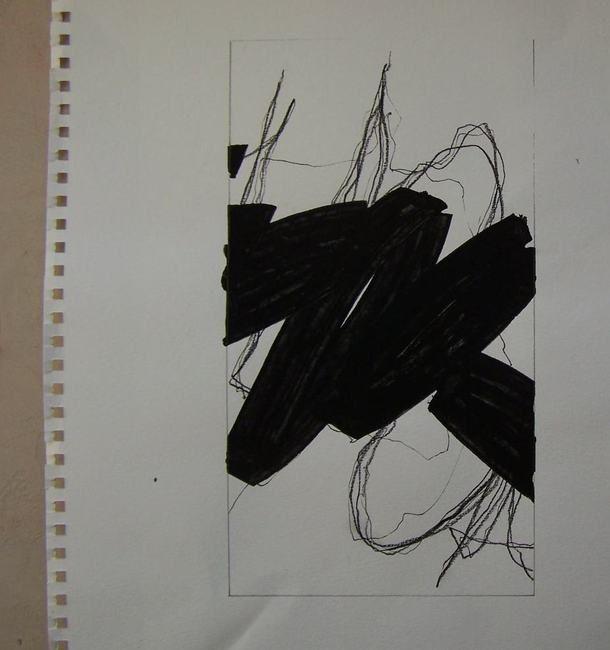 Elisabeth Couloigner Stage Kitty Sabatier Pierrelaye | Caligraphie, Expressionnisme abstrait ...