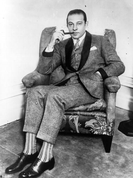 The Italianborn American film actor Rudolph Valentino originally Rodolpho Alphonso Guglielmi di Valentina d'Antonguolla