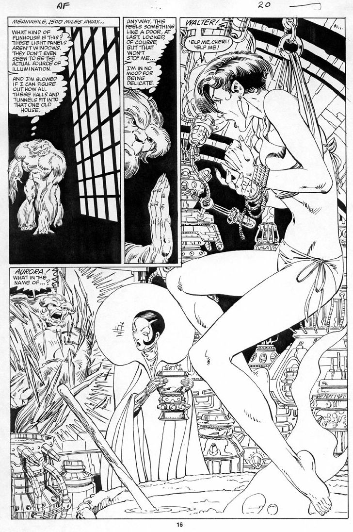 """""""I'm in no mood for being delicate."""" - Alpha Flight #20, page 16 by John Byrne & Keith Williams. 1985."""