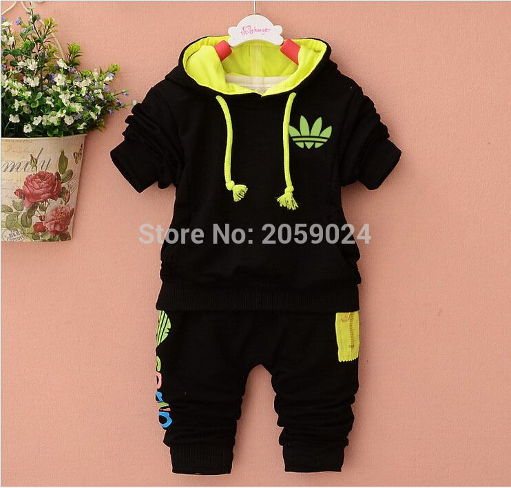 3d7a5190fe44 Online Shop Spring Autumn Style Fashion Baby Clothing Sets Children Boys  Cute Suits Babies Hoodie+pants 2pcs Set Infant Girl Clothes