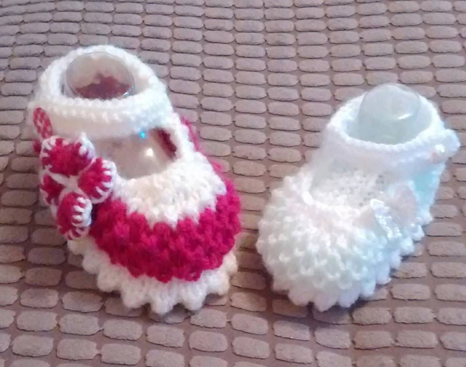 Baby Knitting Pattern Zoe Shoes And Cardi Various Sizes Knitting