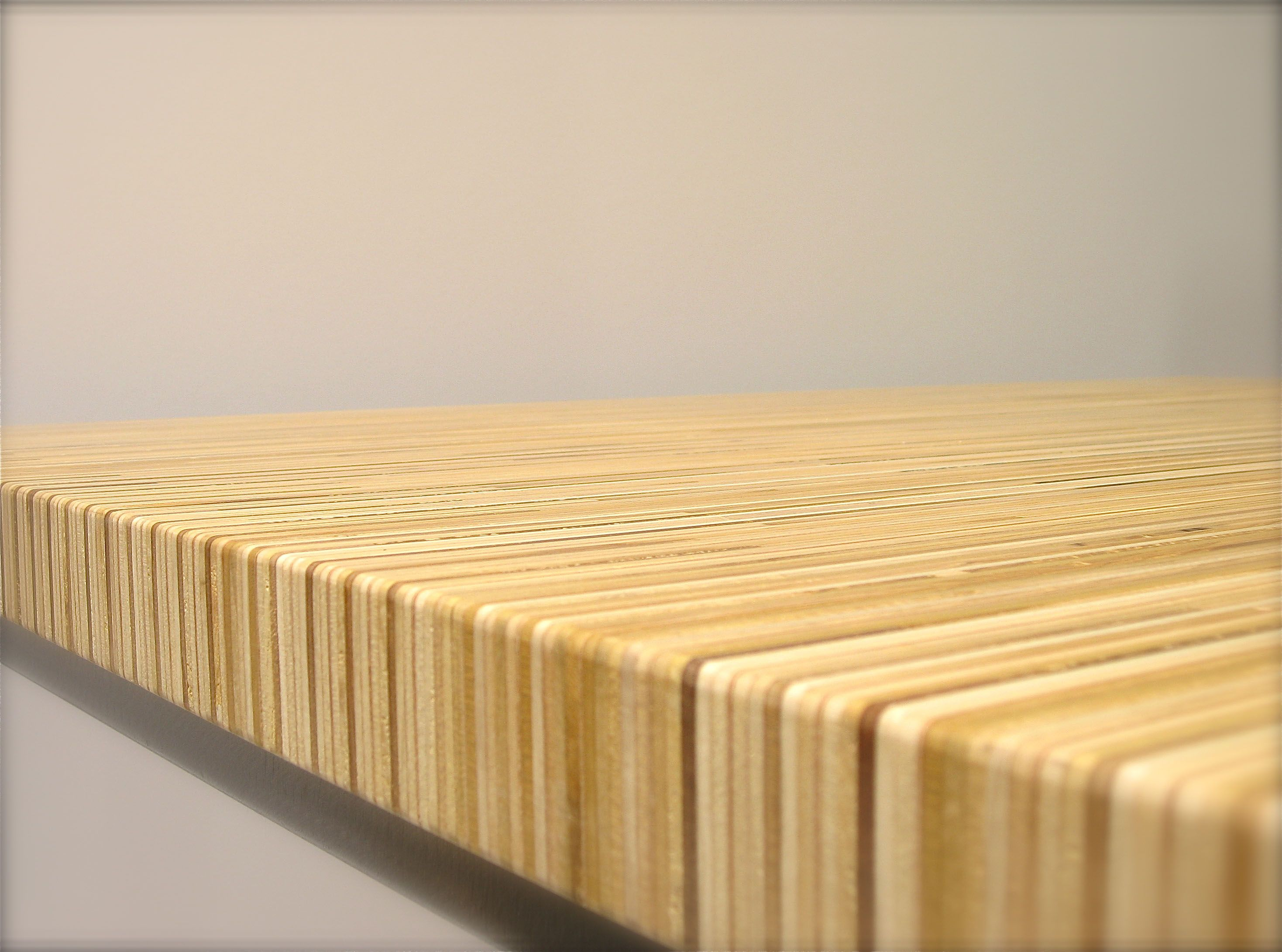 Stacked Plywood Dining Table Plywood Table Plywood Projects