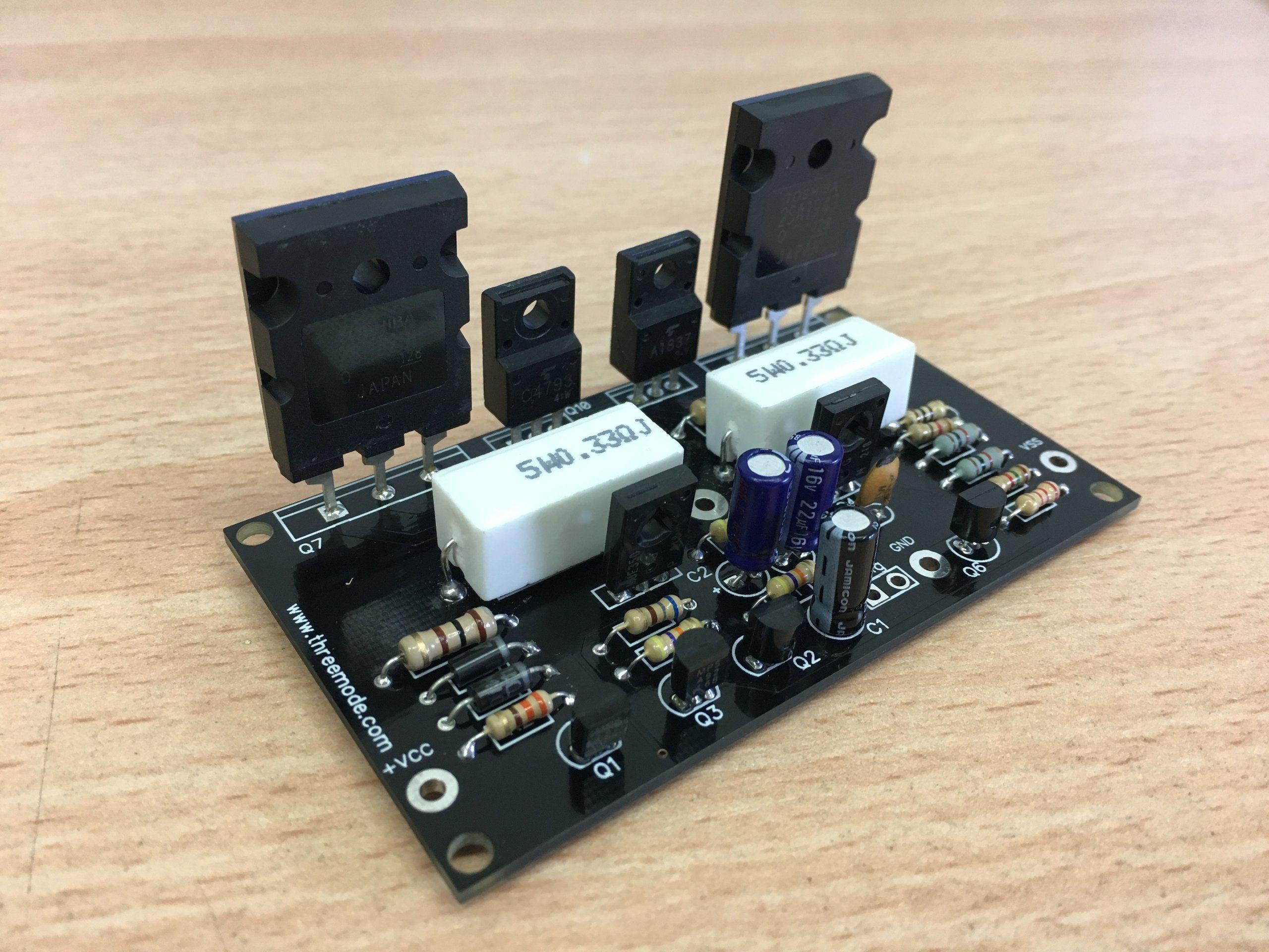 Audio Amplifier Circuit Page 16 Circuits Nextgr Af34 Tda1562q 2n3055 24w Class A 100w Hifi