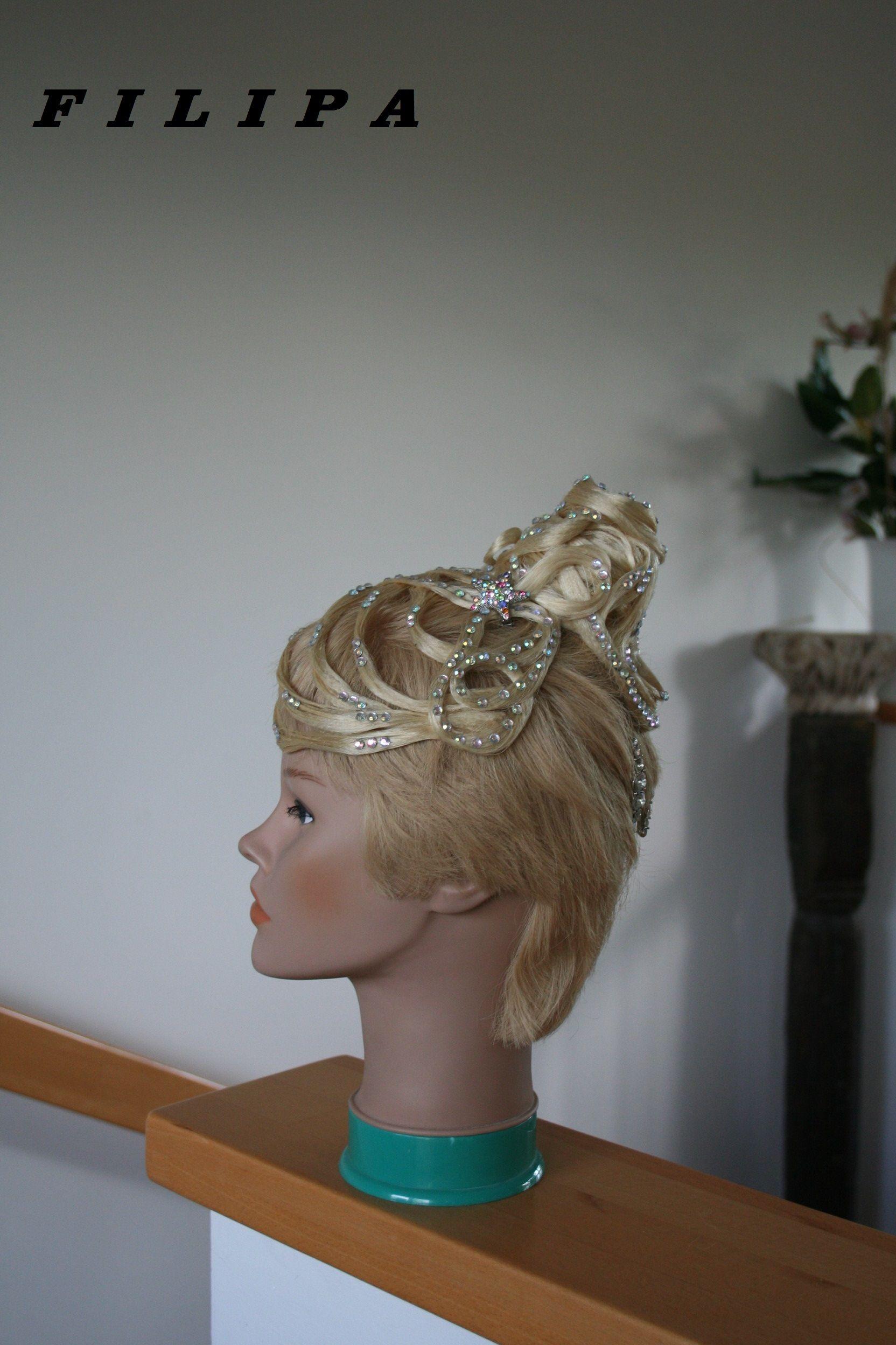 Ein Haarteil Für Ganz Kurze Haare Haarteil Für Ballroom Dance