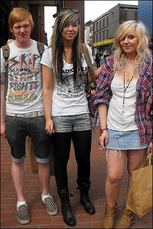 Teen, style, blonde, fashion