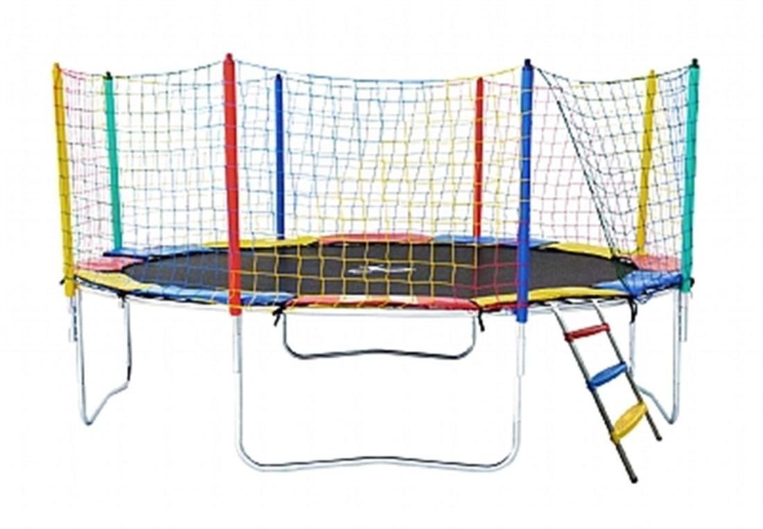 Cama Elastica Henri Trampolim 3 66m Linha Premium Multicolorido