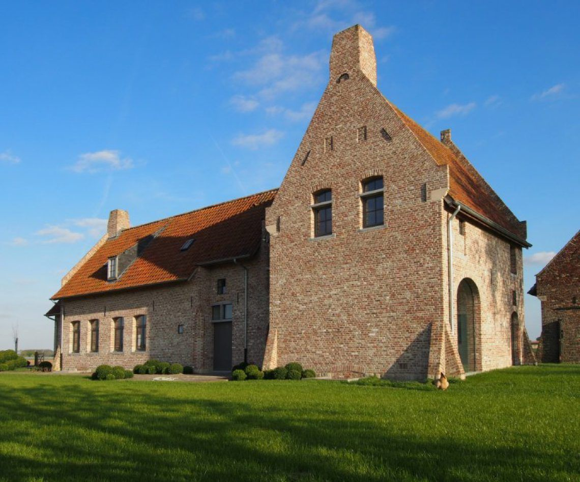 Architectenbureau glenn reynaert u vormige hoeve nabij franse