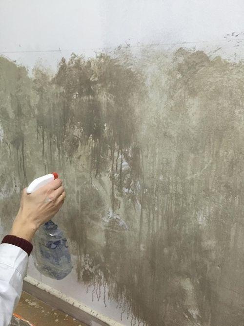 Ideas para pintar una casa paredes vintage efecto - Efectos pintura paredes ...