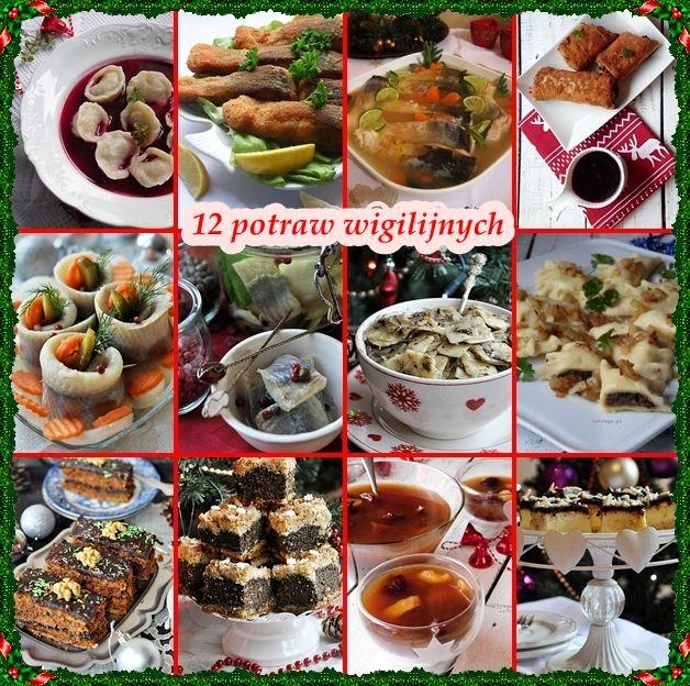 12 Potraw Wigilijnych Dania Wigilijne Damsko Meskie Spojrzenie Na Kuchnie Food Cooking Food And Drink