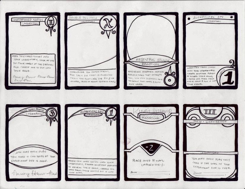 Card Sketch3 Jpg 826 638 Game Card Design Game Design Board Game Design