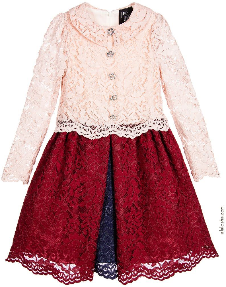ALALOSHA: VOGUE ENFANTS: Must Have of the Day: Cute Children's Holiday Dresses by LOVE MADE LOVE