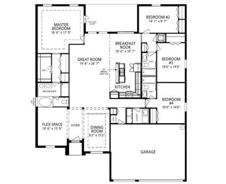 The Westcott New Home Design in Plymouth Creek Estates by Maronda – Maronda Homes Westcott Floor Plan