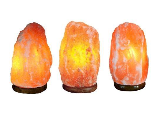 (2-4KG) LaMPARAS SAL PEQUEnAS CON CAJA DE DISEnO (6ud) Minerales y rocas Pinterest