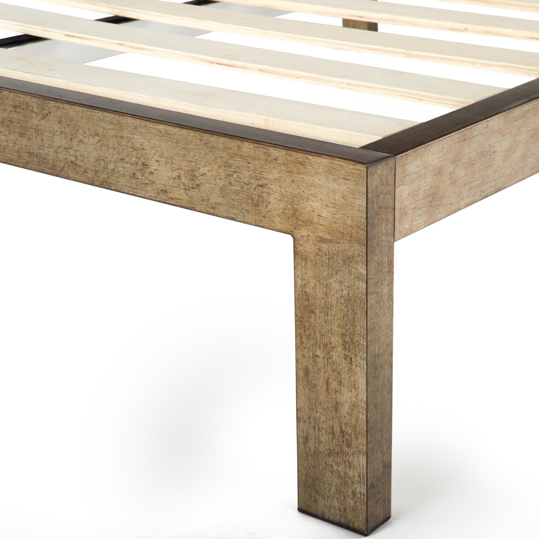 The Frame Gold Brushed Steel Bed Frame Steel Bed Frame Bed