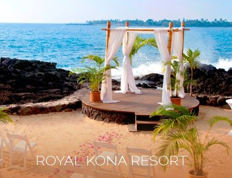 Royal Kona Resort Wedding Venue Hawaii WOW