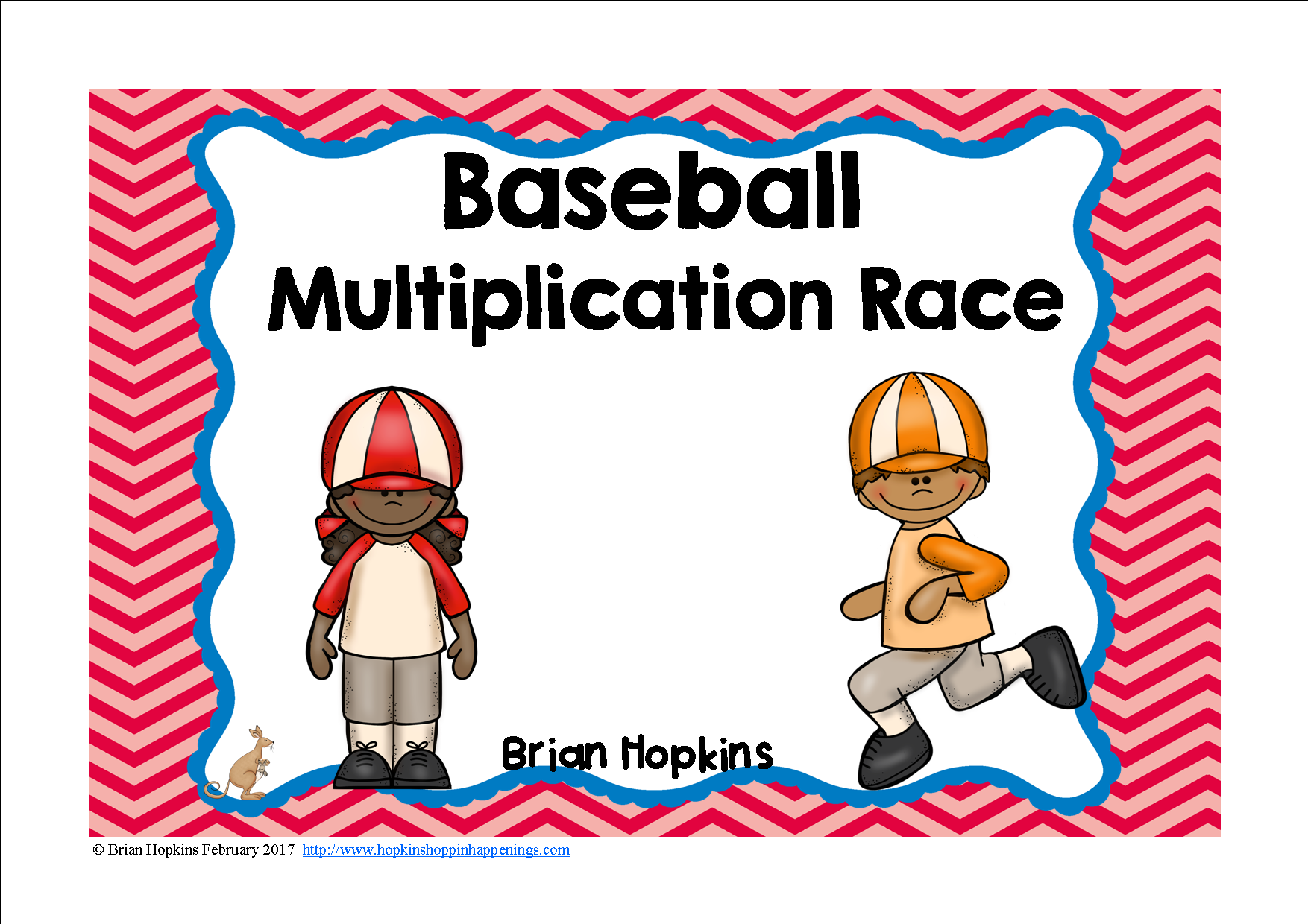 Baseball Multiplication Race With Images
