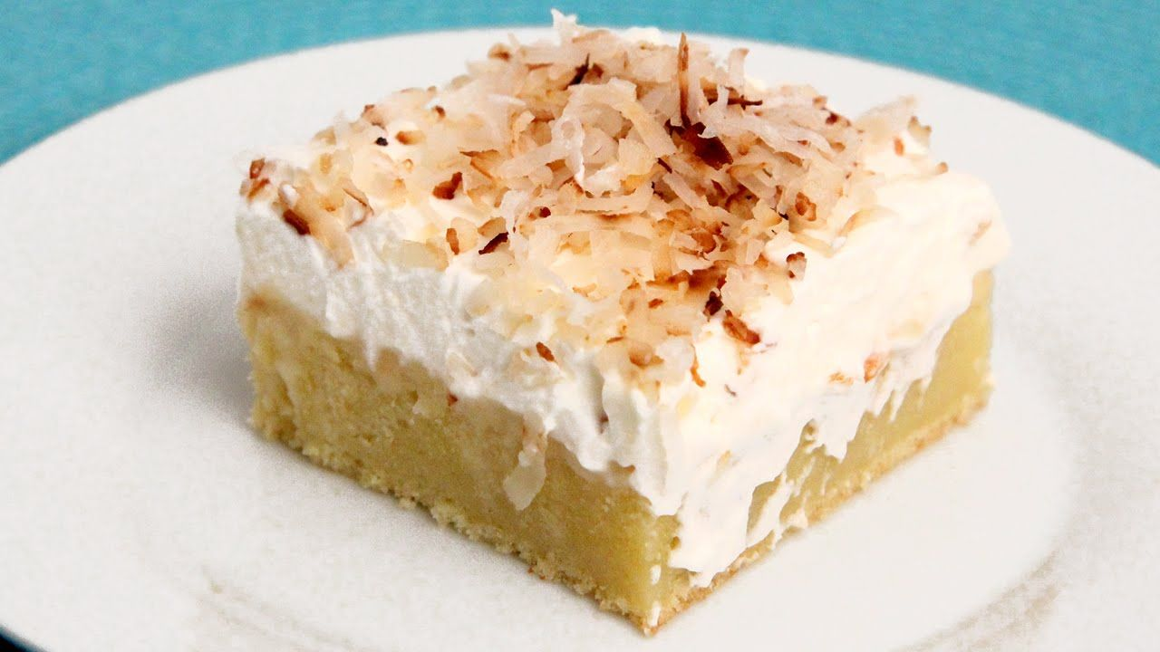 Coconut Tres Leches Cake Recipe - Laura Vitale - Laura in the Kitchen Ep...