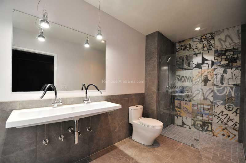 Urban Master Bath: Case Design Remodeling: Birmingham, AL ...