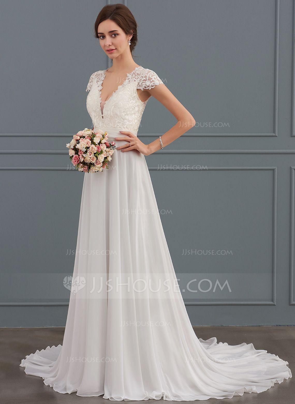 Beautiful Robe De Mariée Princesse Jjshouse   Petite wedding dress ...