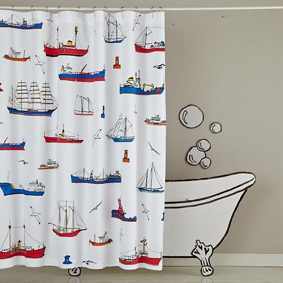 Maritime Shower Curtain Cool Shower Curtains Nautical Shower