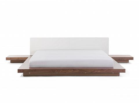 Bett Hellbraun - Doppelbett 180x200 cm - Ehebett - Futonbett - schlafzimmer betten 200x200