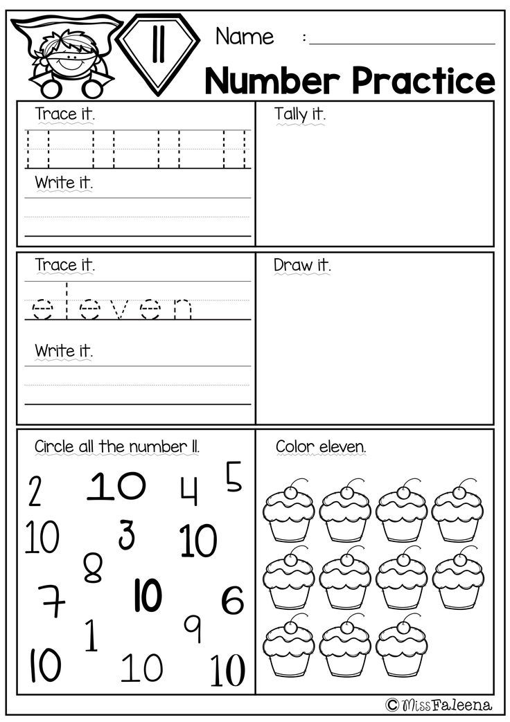 There Are 20 Pages Number Practice Worksheets And Number Coloring Pages In This Product This Product Is Kindergarten Math Education Math Kindergarten Practice