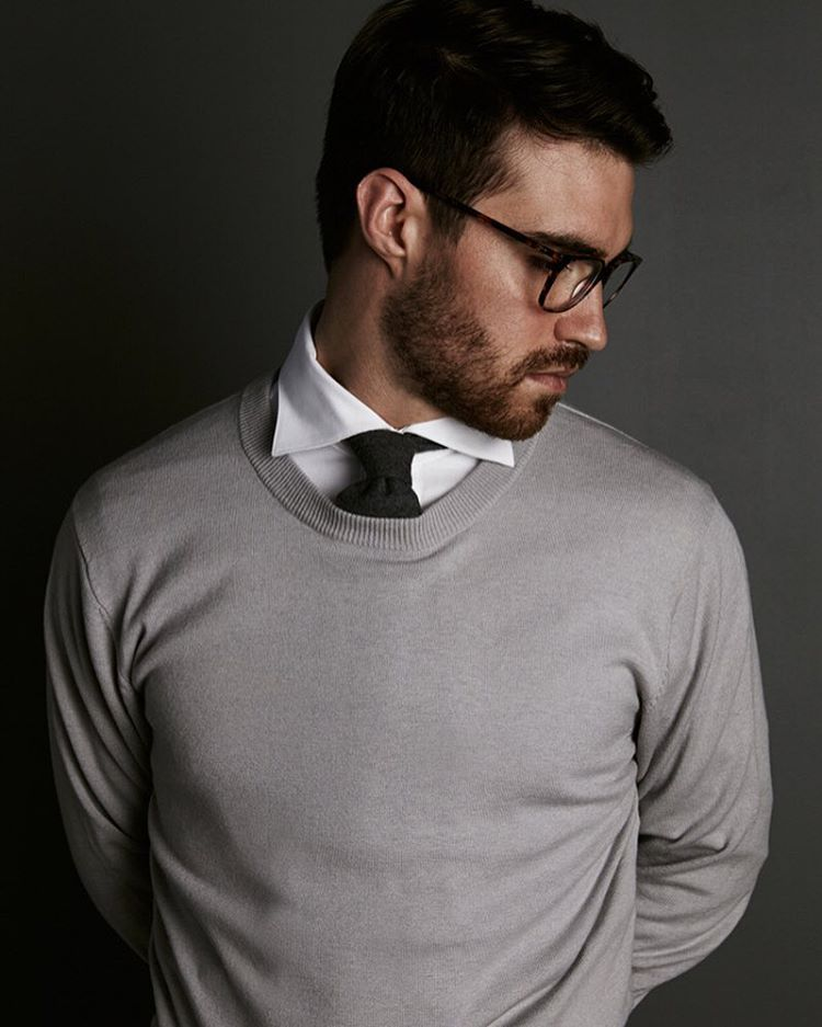 hermenmenswear:    Keep calm & wear cashmere hermen cashmere knits have got your every day luxury covered. (at Melbourne Australia)