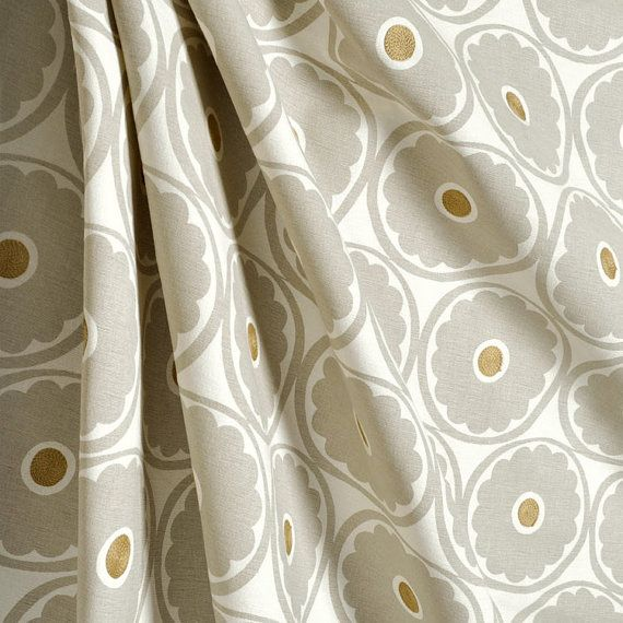 Pair of designer curtain drapery panels LINED by kirtamdesigns, $700.00