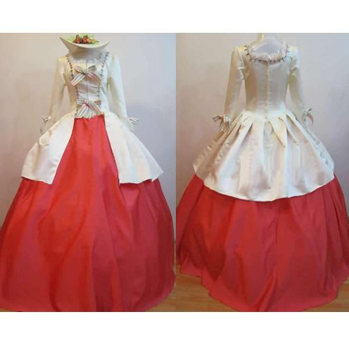 85904fa6e86 Plus Size Available Old West Pioneer Women Clothing Halloween Costumes.  Custom Red Ivory Long Sleeve Old West Pioneer Winter Wedding Ball Dress.  dress idea