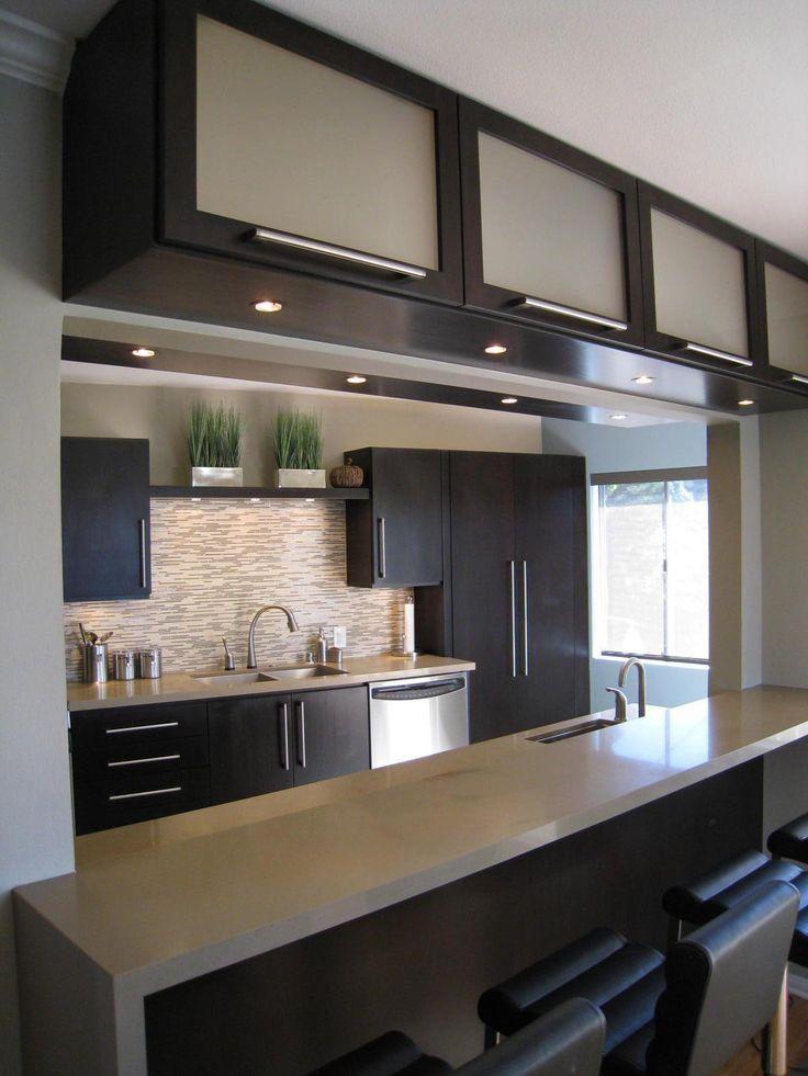 Ideas fantasticas para decorar tu cocina (39 | Gabinetes oscuros ...