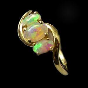 Opal Ring 5403 #opalsaustralia