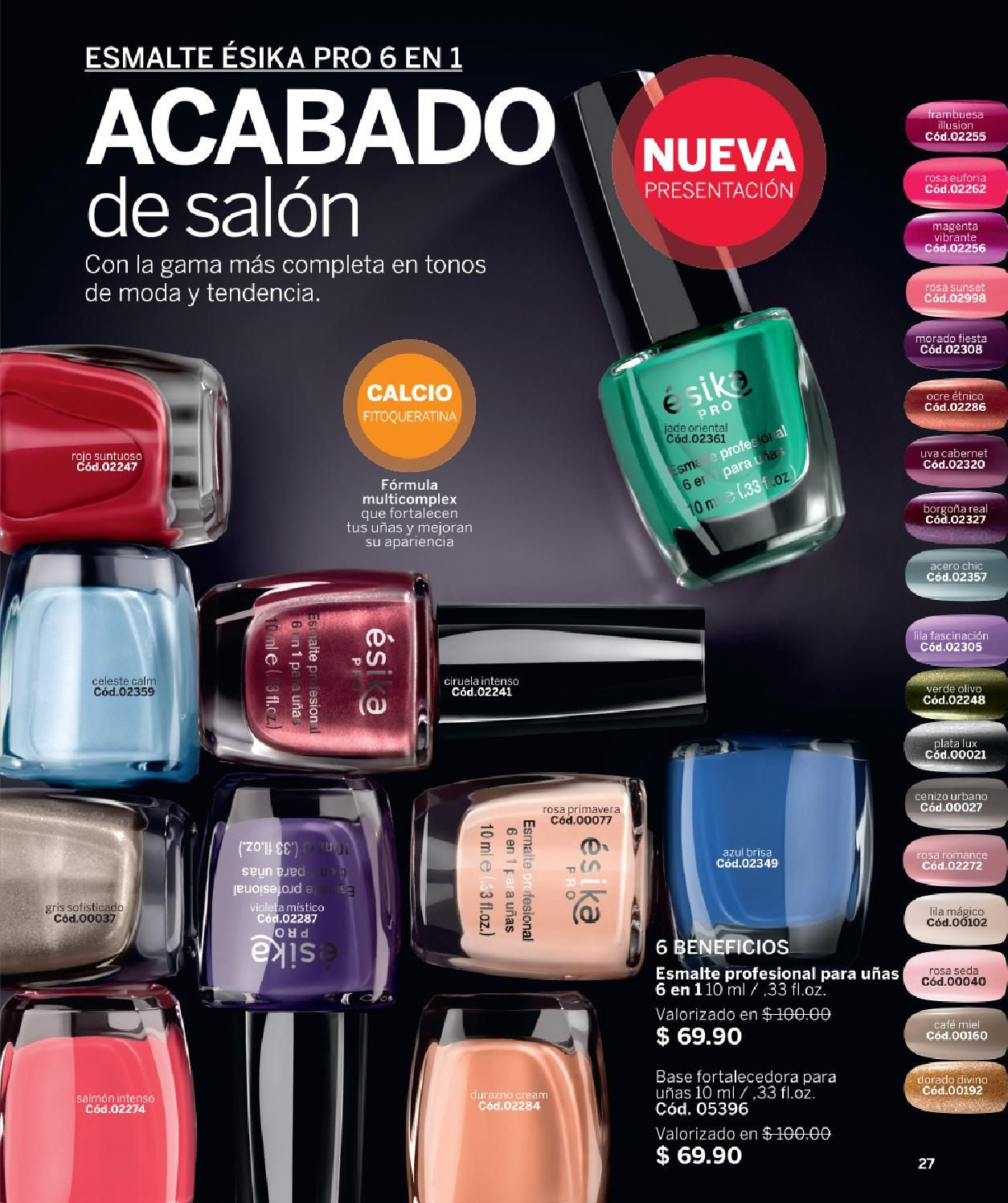 ISSUU - Esika mexico c14 2015 de Cuquiscosmetic | UÑAS | Pinterest