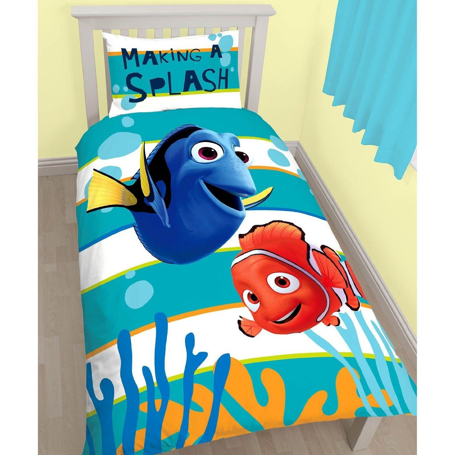 Nemo Bettwäsche Finding Dory Nemo Bedding Bedroom Decor | Nemo Bedding, Single Quilt, Kids Duvet