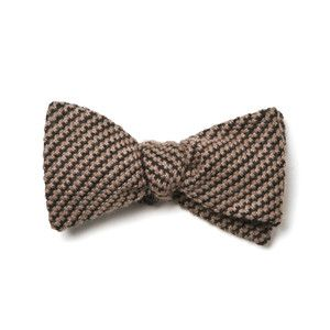 Edward Bow Tie Taupe, $23, now featured on Fab.