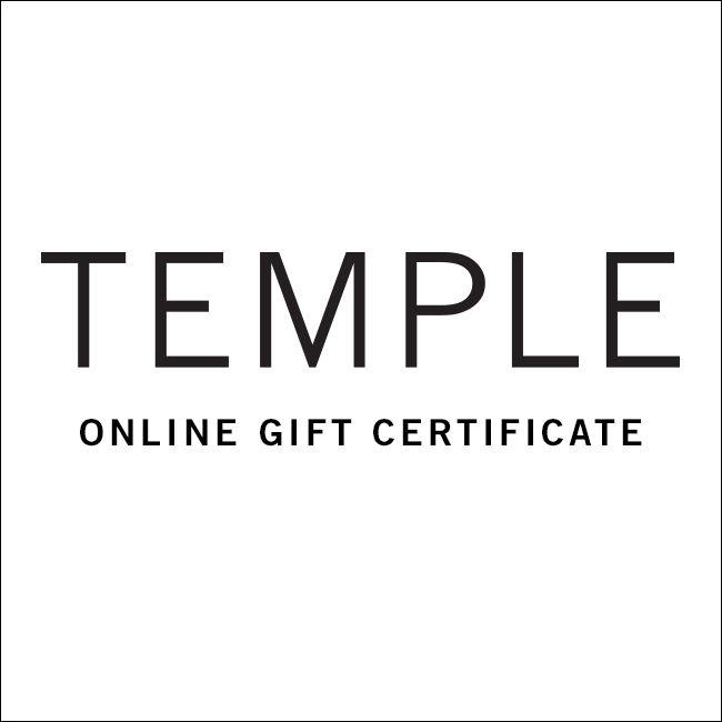 Online Gift Certificate Temple Coffee Roasters Inc Wish List